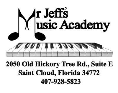 Mr Jeff's Music Academy Music Lessons Saint Cloud Piano